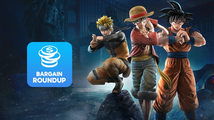 Aussie Bargain Roundup: Jump Force Deluxe Edition