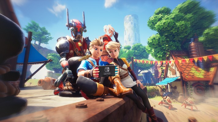 Oceanhorn 2 is making its way to Switch later this year