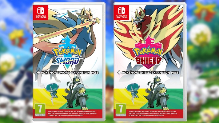 Pokémon Sword and Shield bundles with Expansion Pass hitting shelves on November 6th.