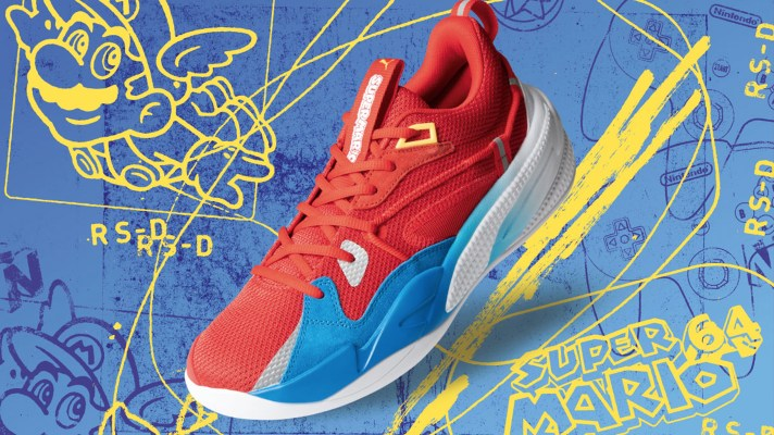 PUMA Super Mario Sneakers are sneaking your way