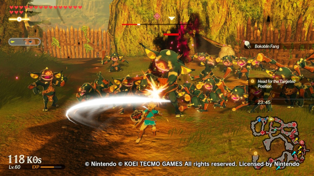 Hyrule Warriors Age Of Calamity Review Vooks
