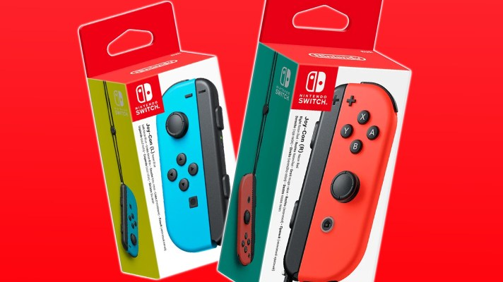 Individual Switch Joy-Con available to buy again from next month