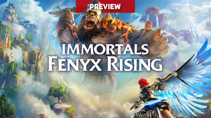 Immortals Fenyx Rising (Switch) early impressions