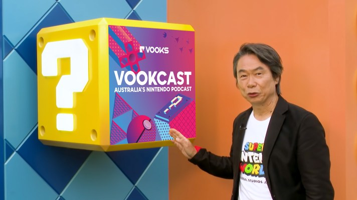 Vookcast #202: Our First Look at Super Nintendo World!