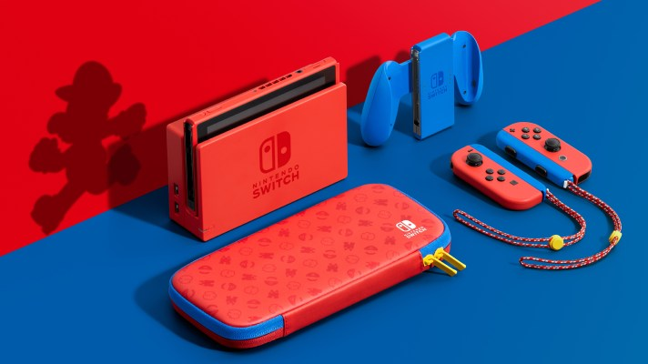 Nintendo releasing Limited Edition Red and Blue, Mario themed Nintendo Switch on February 12th