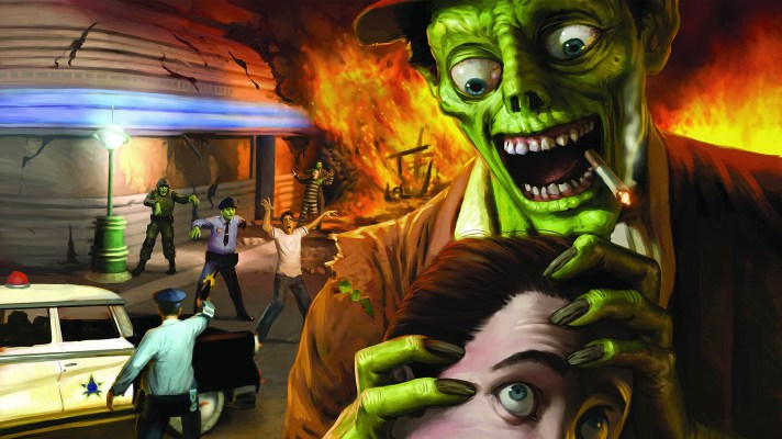 Rising once more, Stubbs the Zombie in Rebel Without a Pulse is coming to Switch