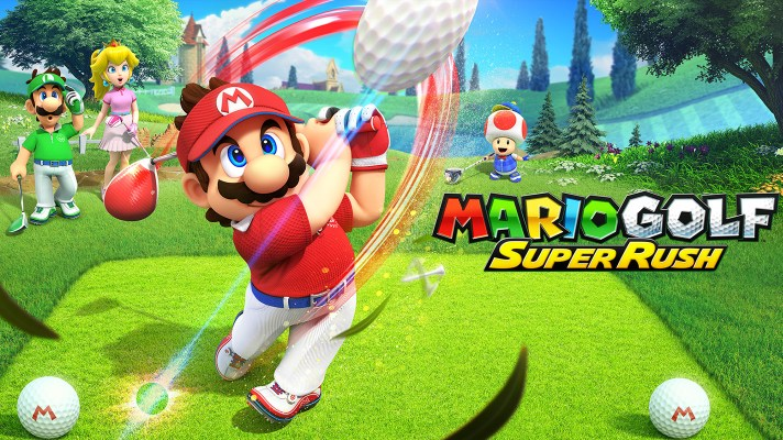 Mario Golf: Super Rush lands on Switch this June