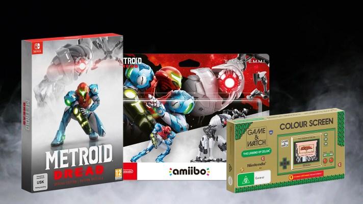 Preorder Roundup: Metroid Dread Special Edition, amiibo, Zelda Game & Watch