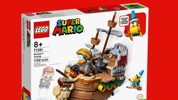 New Super Mario Lego, including Bowser's Airship coming in August