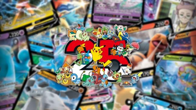 25th Anniversary Pokémon cards are headed to Macca's in Australia