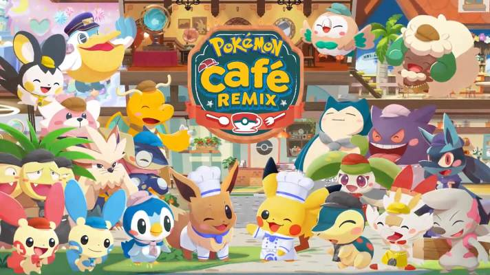 Pokémon Cafe Mix gets remixed with new name out later this year