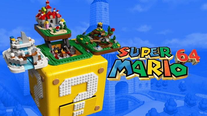 Lego is bringing back Super Mario 64 in a bricktastic way