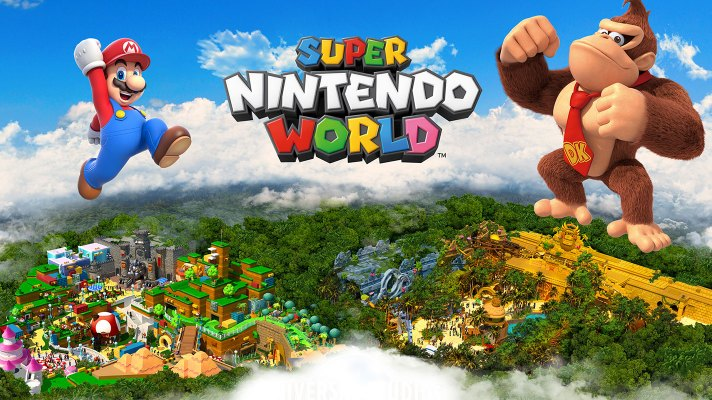 Donkey Kong and crew are swinging into Super Nintendo World in 2024