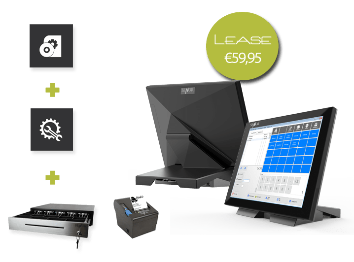 kassasysteem, kassasoftware, touchscreen kassasysteem