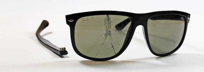 Aansprakelijkheid schade aan zonnebril