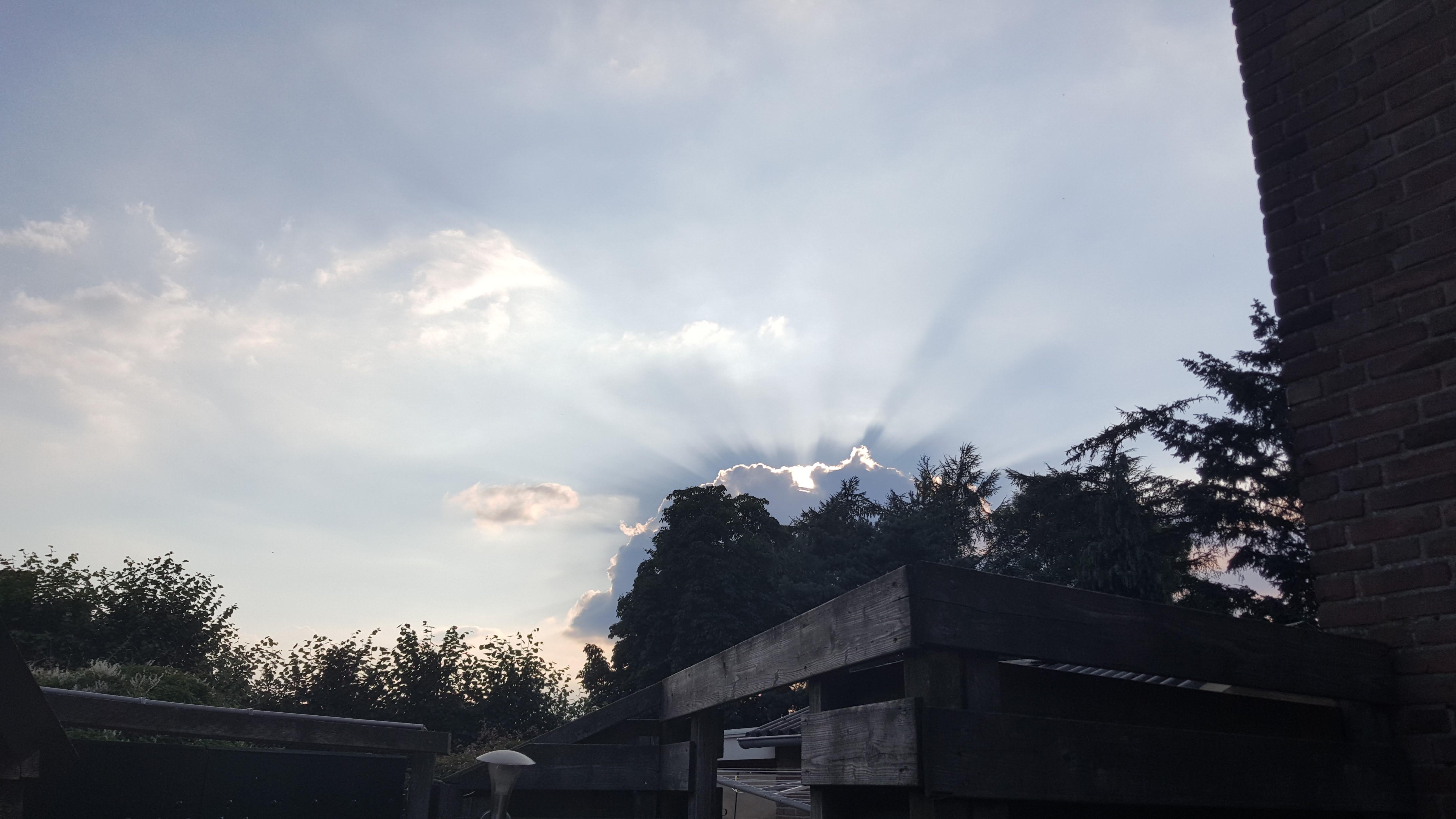 Zonsondergang Voorthuizen oost