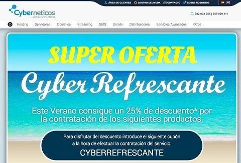 Cyberneticos Hosting Descuento