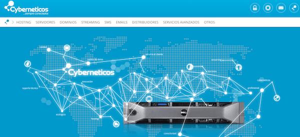 Cyberneticos empresa de hosting