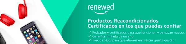 Amazon renewed productos reacondicionados