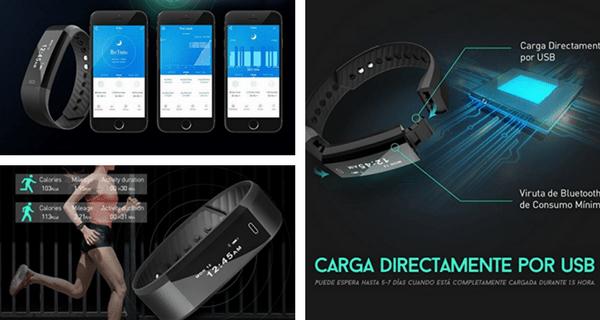 Smartband pulsera actividad inteligente