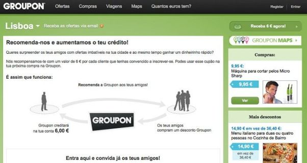 Descontos Groupon Portugal