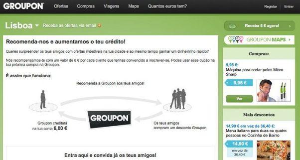 Descontos Groupon Portugal