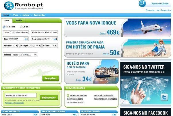 Rumbo.pt Voos, Hotéis e Viagens