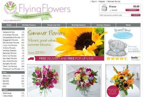 flyingflowers.co.uk