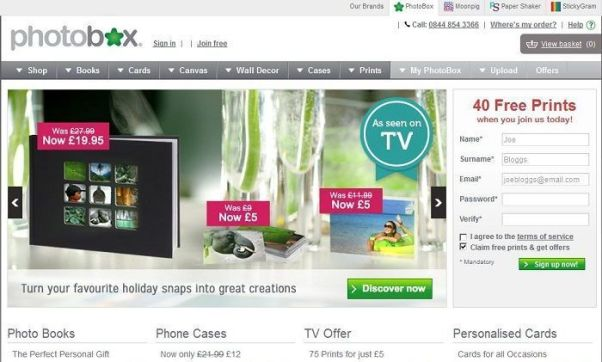 Photobox discount
