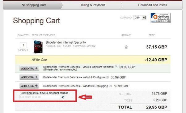 bitdefender discount coupon