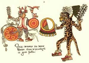 Jaguar aztec