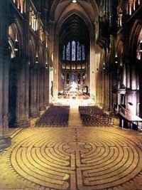 El laberinto de la Catedral de Chartres: El Misterio de los Laberintos