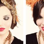 Maquillaje de los 20's – Halloween