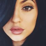 Labios al estilo Kylie Jenner