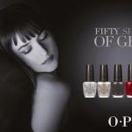 Nueva colección de O·P·I  *Fifty Shades of Grey*.