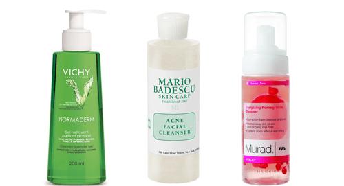 limpiadores faciales - pecados