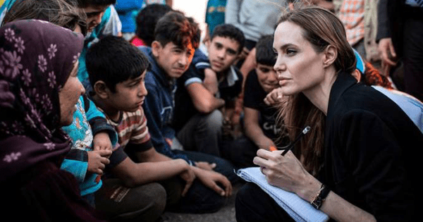 mujers admirables angelina