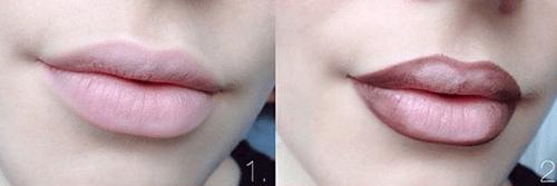 delinear-labios