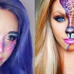 5 looks lindos de maquillaje para Halloween