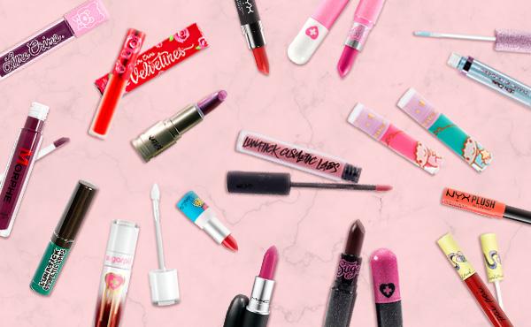 variedad de lipstikc en Vorana