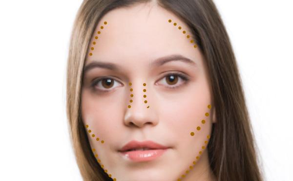 brochas de maquillaje para contour en polvo