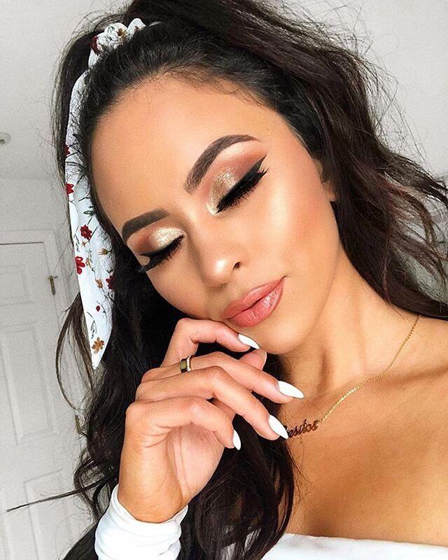 maquillaje de ojos con brochas sigma beauty