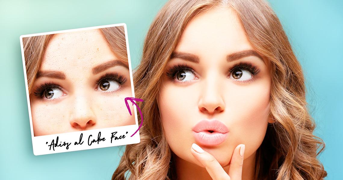 Tips de maquillaje para evitar el efecto cake face