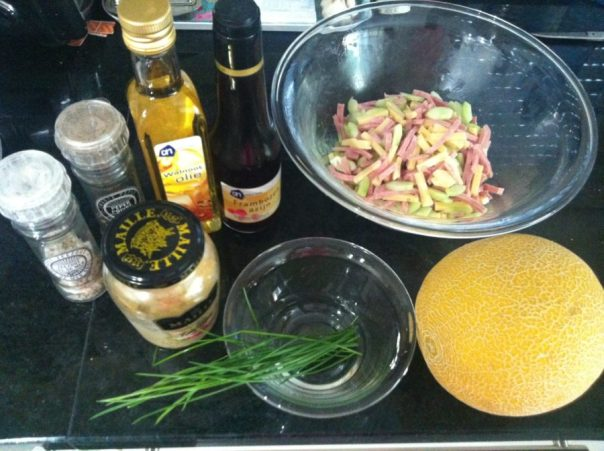Reepjessalade ingrediënten