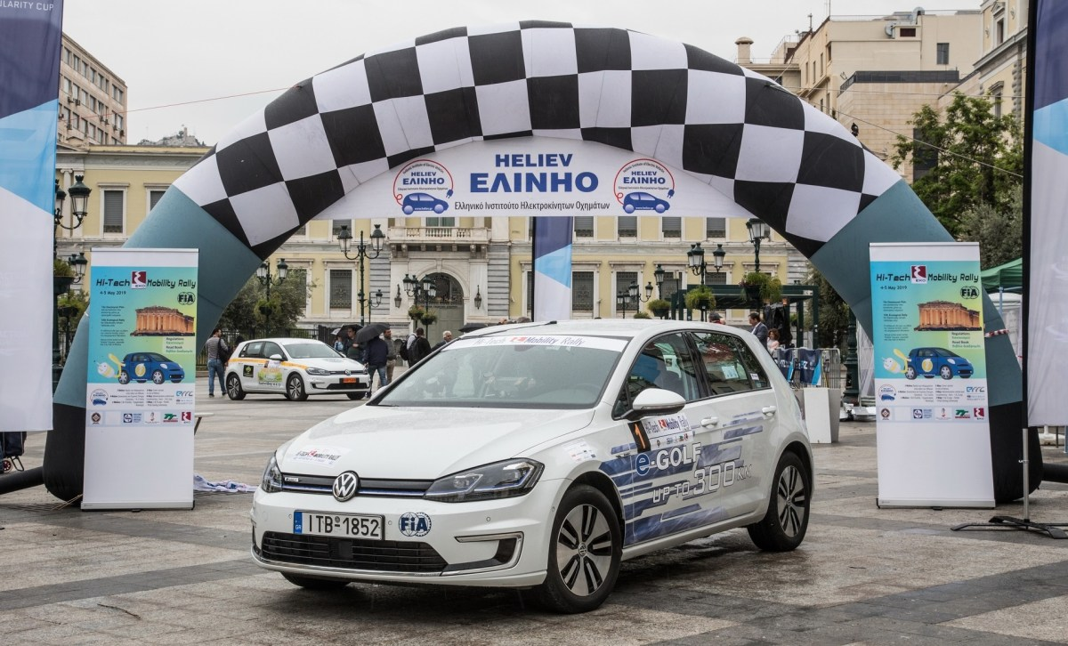 HI-TECH EKO MOBILITY RALLY 2019 - VOLKSWAGEN E-GOLF