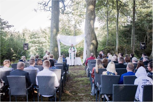 What happens after wedding ceremony?