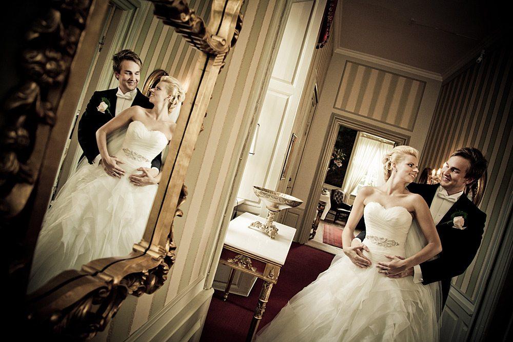 bryllupsfoto fra Rebild
