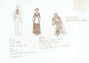Programmatitel en datum niet bekend, ontwerp Els Salomons. Collectie Erven Els Salomons