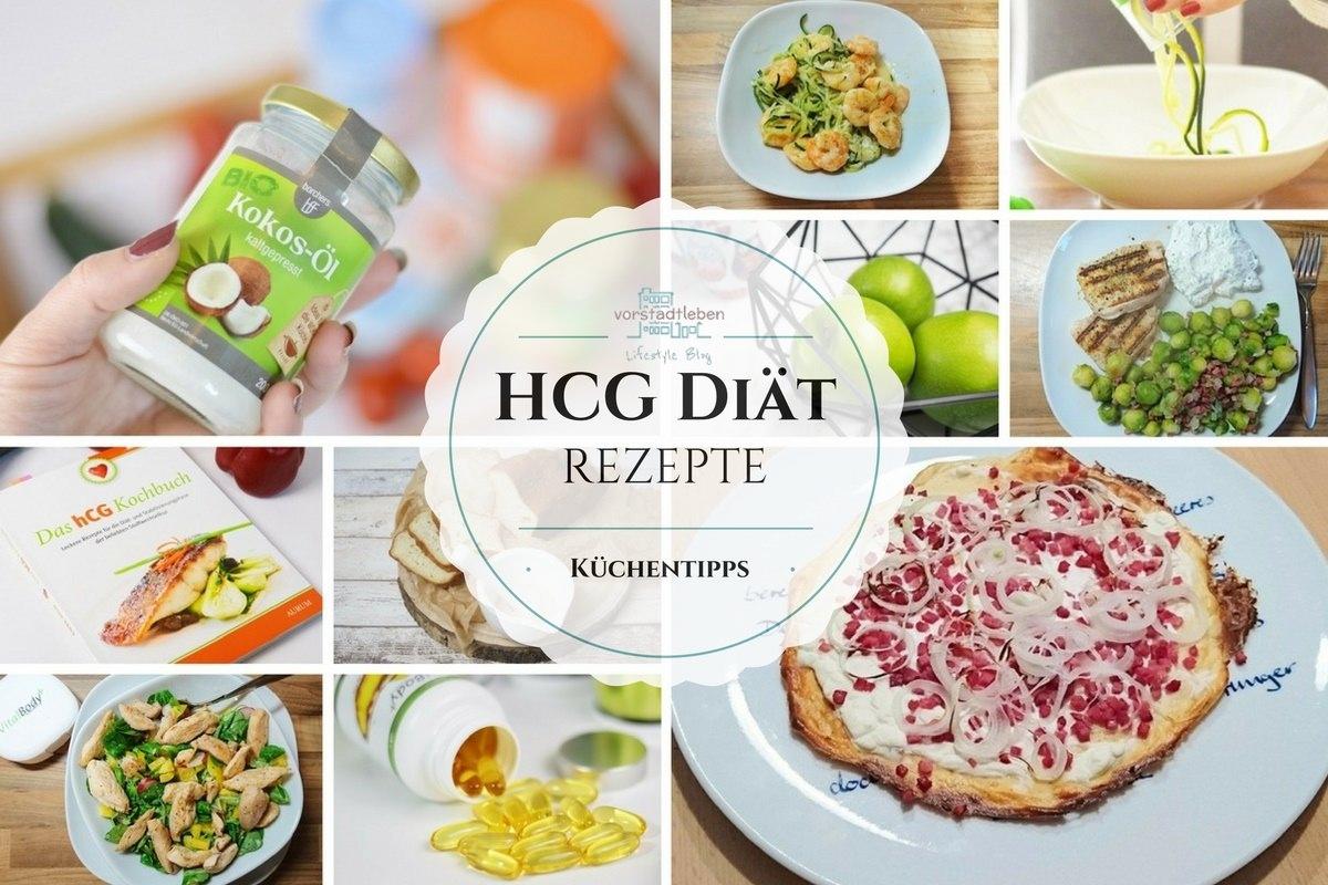 hCG Rezepte und Küchentipps - Erfahrungen mit der Stoffwechselkur