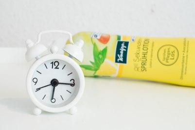 Kneipp Sekunden Spruehlotion Morgenrituale Wecker
